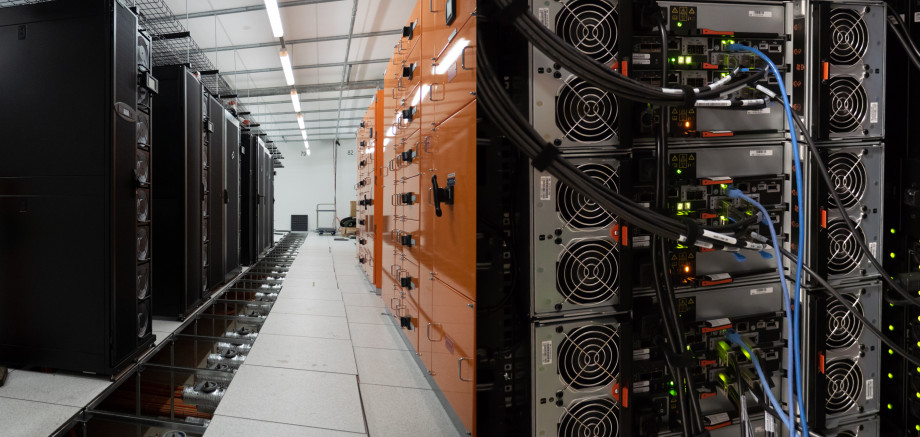 Equipment in NCI's data centre