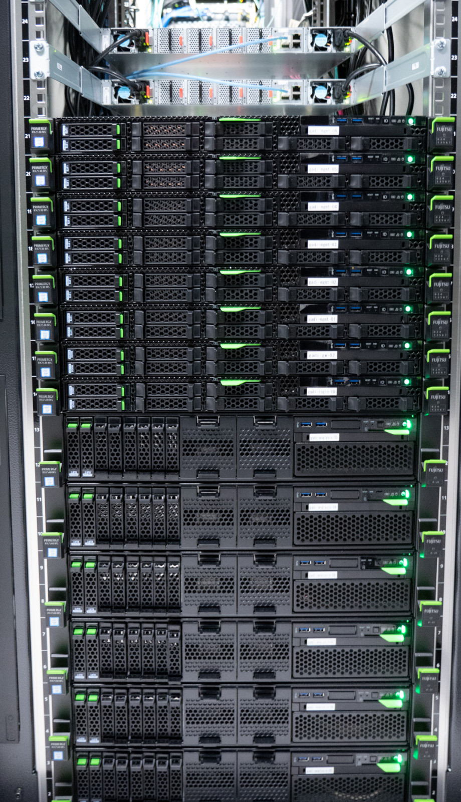 GPU nodes of the Gadi supercomputer.