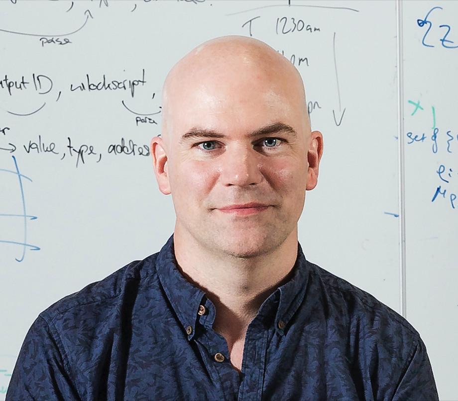 Headshot of Research Fellow Dr David Tuckett