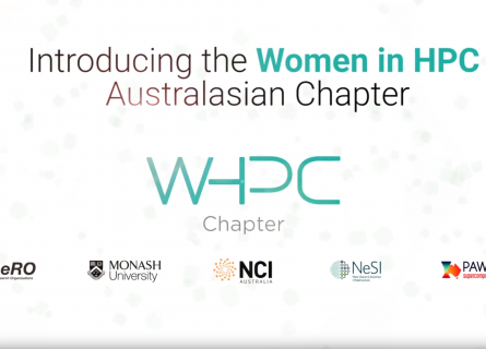 Women in HPC title card