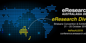 eResearch Australasia banner image.